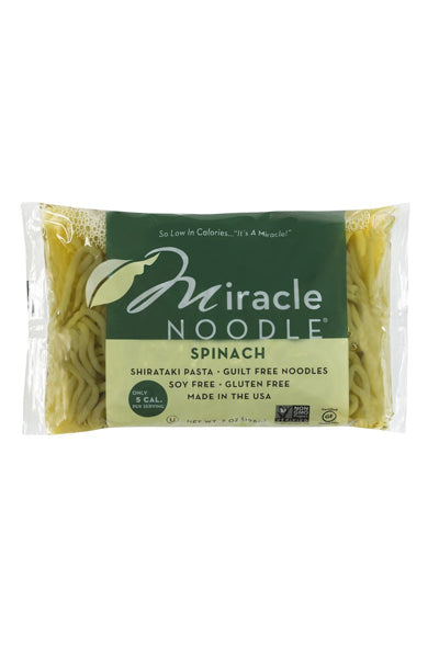 Miracle Noodle Spinach - The Condimented Pantry
