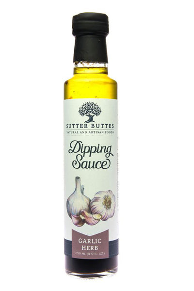 Sutter Buttes Traditional Balsamic Garlic-Herb Dipping Sauce - The Condimented Pantry