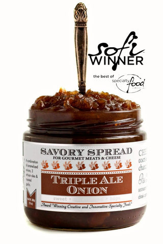 Wozz! Kitchen Creations Triple Ale Onion Spread - The Condimented Pantry