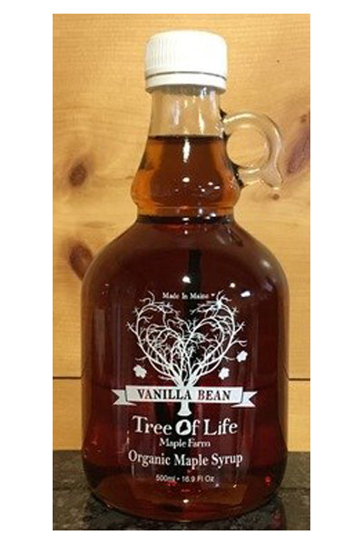 Tree of Life Organic Vanilla Bean Maple Syrup - The Condimented Pantry