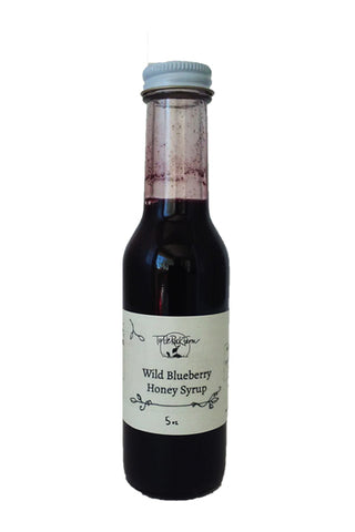 turtle rock wild blueberry honey syrup