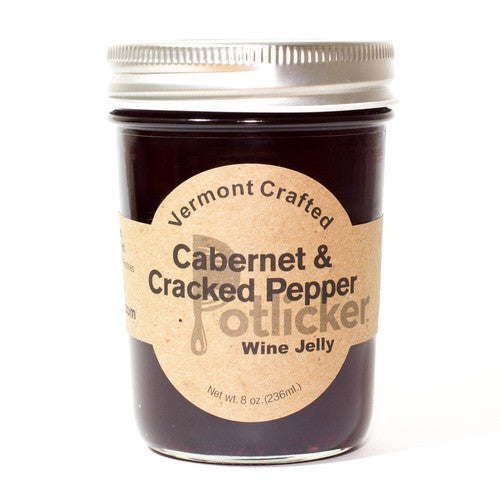 Potlicker Kitchen Cabernet & Cracked Pepper Jelly - The Condimented Pantry