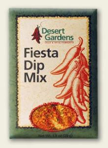 Desert Gardens Fiesta Dip Mix - The Condimented Pantry