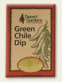 Desert Gardens Green Chile Dip Mix - The Condimented Pantry