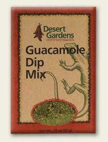 Desert Gardens Guacamole Dip Mix - The Condimented Pantry