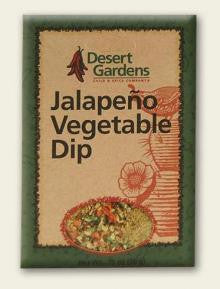 Desert Gardens Jalapeno Vegetable Dip Mix - The Condimented Pantry