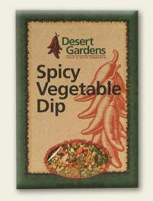 Desert Gardens Spicy Vegetable Dip Mix - The Condimented Pantry