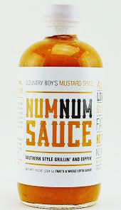 Num Num Sauce - Country Boy's Mustard - The Condimented Pantry
