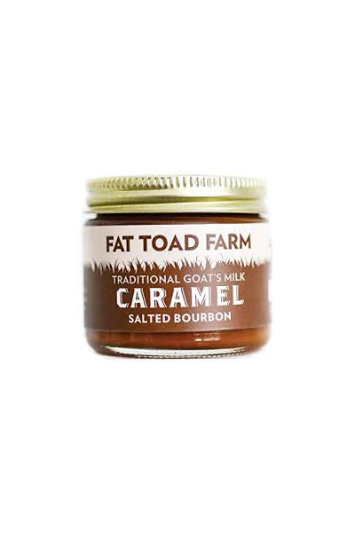 Fat Toad Farm Salted Bourbon Goat's Milk Caramel - The Condimented Pantry