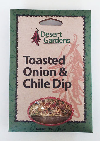 Desert Gardens Toasted Onion & Chile Dip Mix - The Condimented Pantry