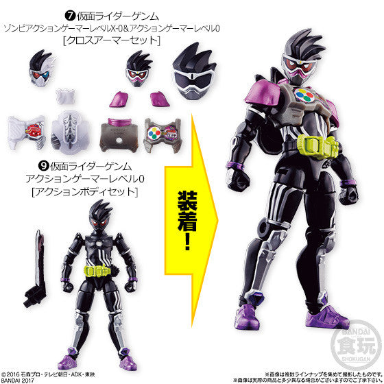 Ex-Aid SODO STAGE 9 Candy Toy Figures
