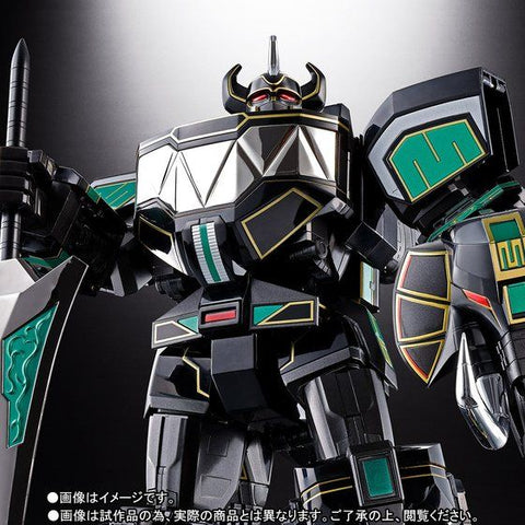 Soul of Chogokin GX-72B Black & Green Daizyujin