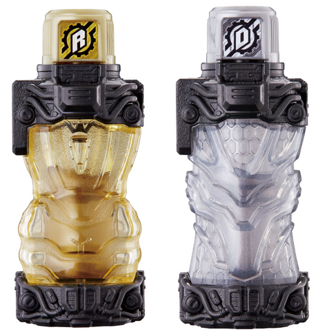 DX Gold Rabbit & DX Silver Dragon Movie Full Bottle Set