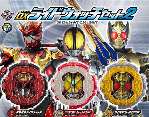 [PREORDER] DX RideWatch Set Vol 2