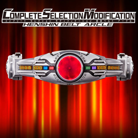 [PREORDER] Complete Selection Modification Henshin Belt Arcle