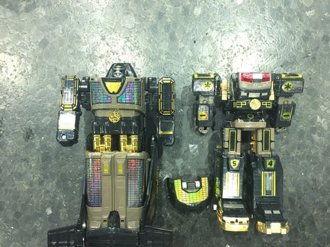 DX Black & Gold Liner Boy & Victory Robo