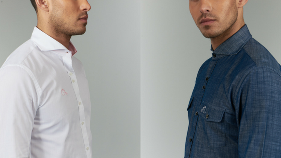 White Shirt Or Blue Shirt? How To Decide.