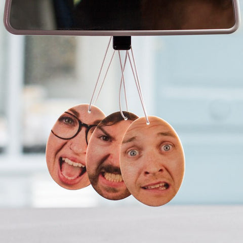 Personalised Car Fresheners with your face on