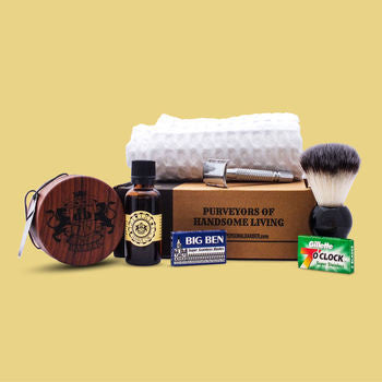 A Gentleman's shaving kit gift
