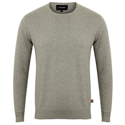 Bennett | Ash Grey Cotton Jumper