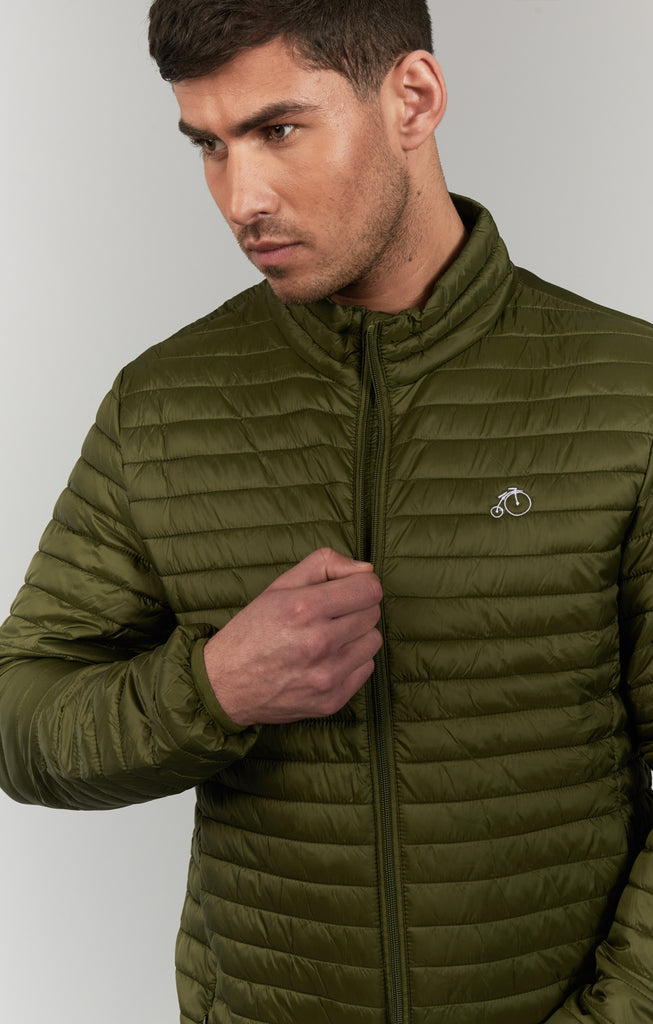 Dalton | Lightweight Jacket in Olive