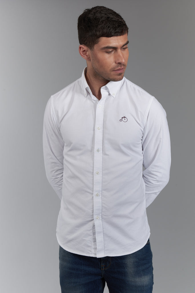 Rupert | White Oxford Shirt
