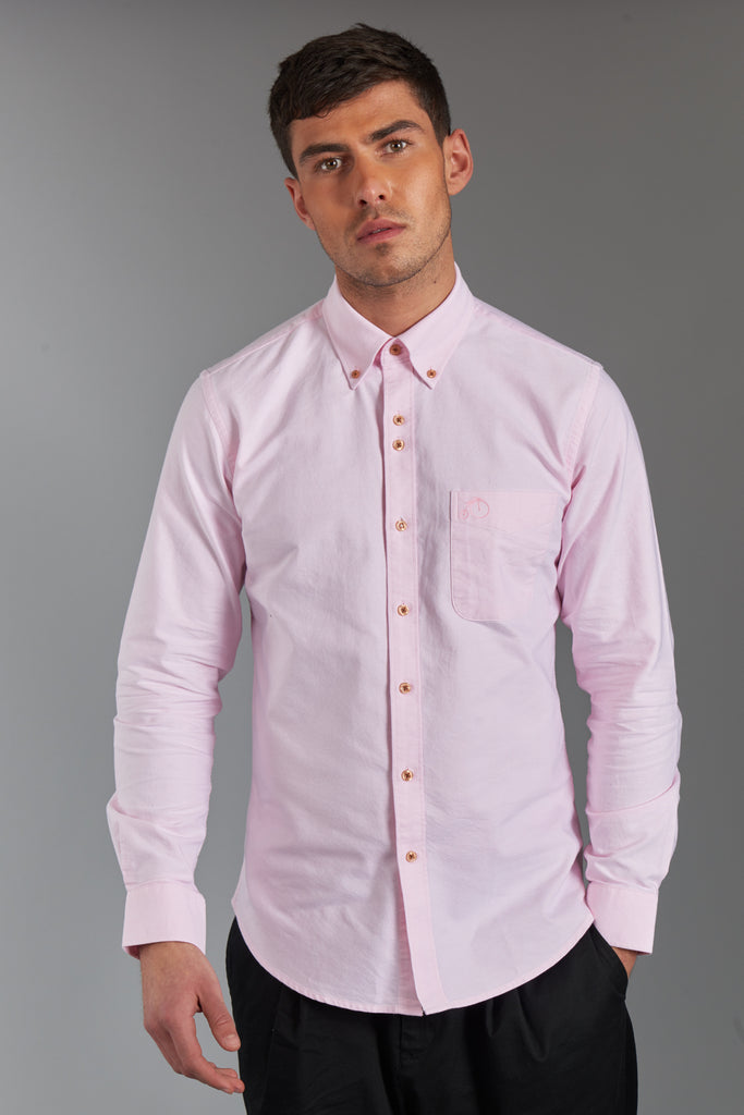 Victor | Light Pink Oxford Shirt