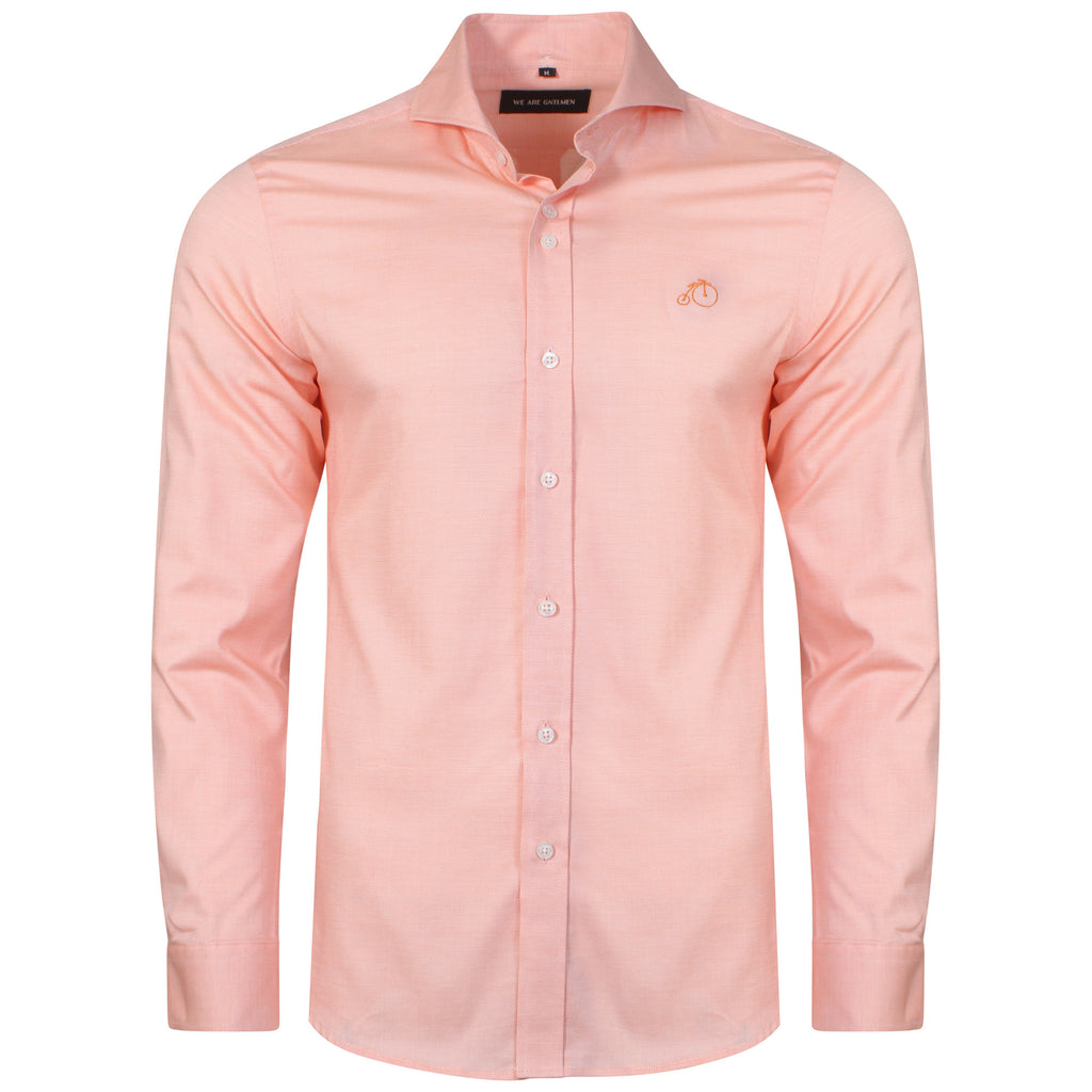 Manning | Orange Casual Shirt