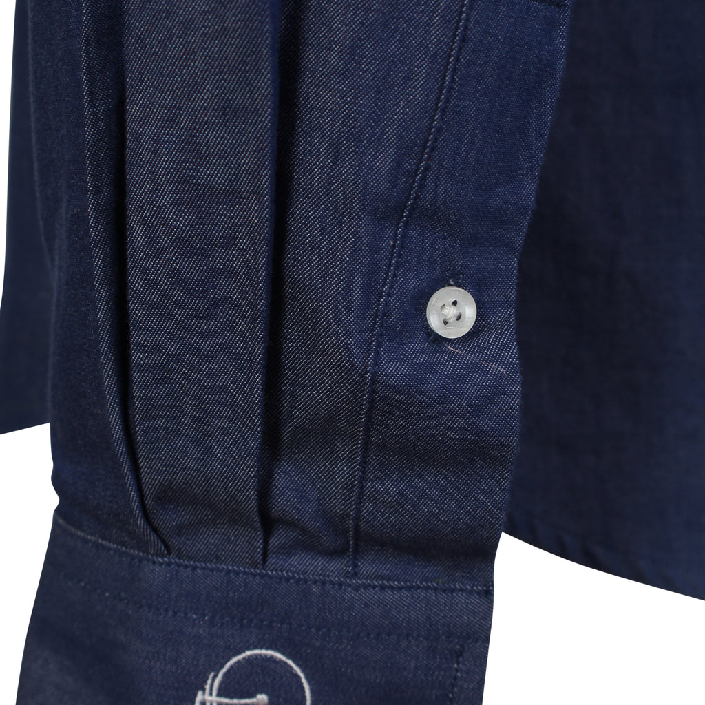 Alfred | Navy Blue Casual Shirt