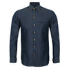 Monroe | Chambray Shirt With Button Down Collar