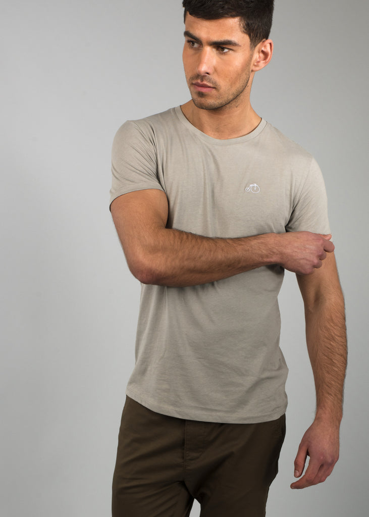 Quinn | Grey Short Sleeve T-shirt