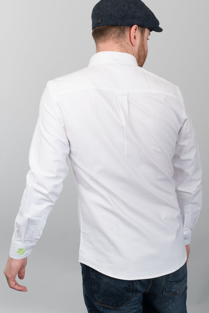 Humphrey | Charity White Oxford Shirt
