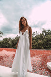 ISIDORA ALMA MAXI DRESS - WHITE