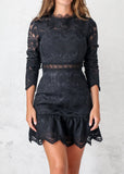 PIXIE DRESS - BLACK