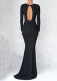 LIV GOWN - BLACK