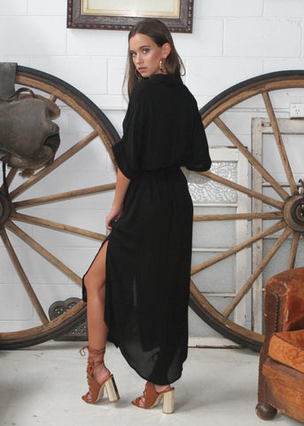 INDRA DRESS - BLACK