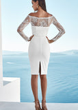 LANA LACE DRESS - WHITE