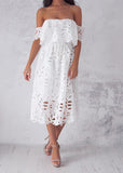 EVA DRESS - WHITE