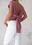 TAKE YOU AWAY TOP - MAUVE