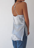 MOONSHINE TOP - SILVER