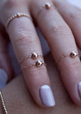 FINGERTIP RINGS - SET OF 3 by The.Littl
