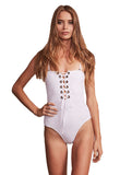 BRIGITTE BARDOT ONE PIECE - WHITE