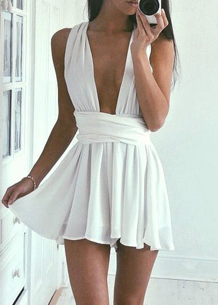 VOLTAGE PLAYSUIT - WHITE