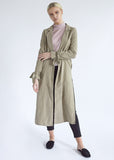 OLIVE GREEN MAXI DUSTER JACKET