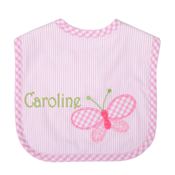 Butterfly Kisses Feeding Bib