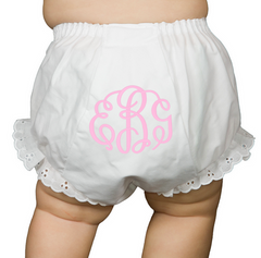 Baby Girl Diaper Cover Bloomers