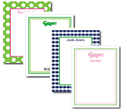 Kids Flat Note Cards - 4 designs