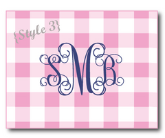 Folded Note Cards - 3 designs