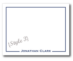Flat Note Cards - 5 designs