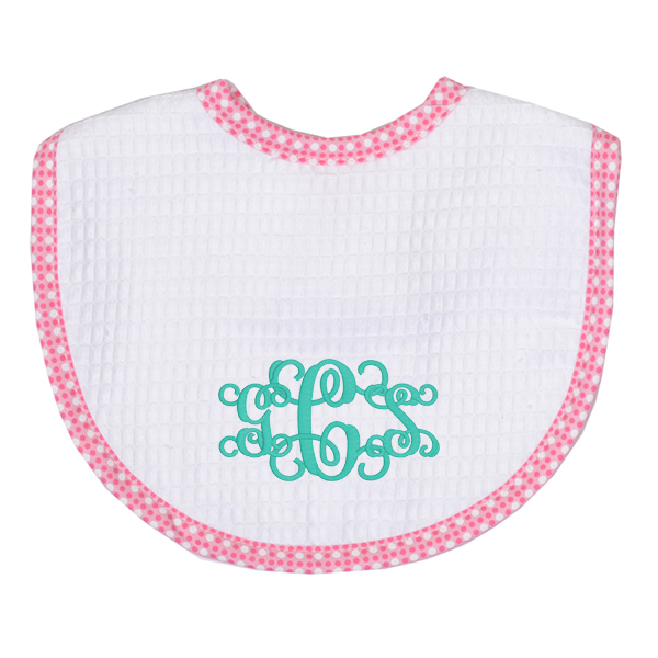 Dot Pique Bib - 2 colors